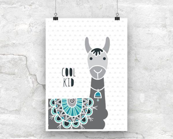 DIY A3-Cool-Kid-Poster