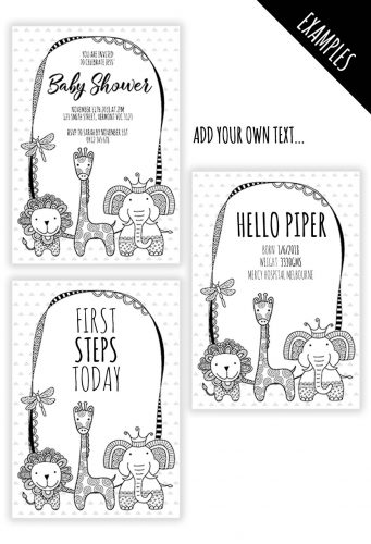 DIY BW-Critters-Background-Examples