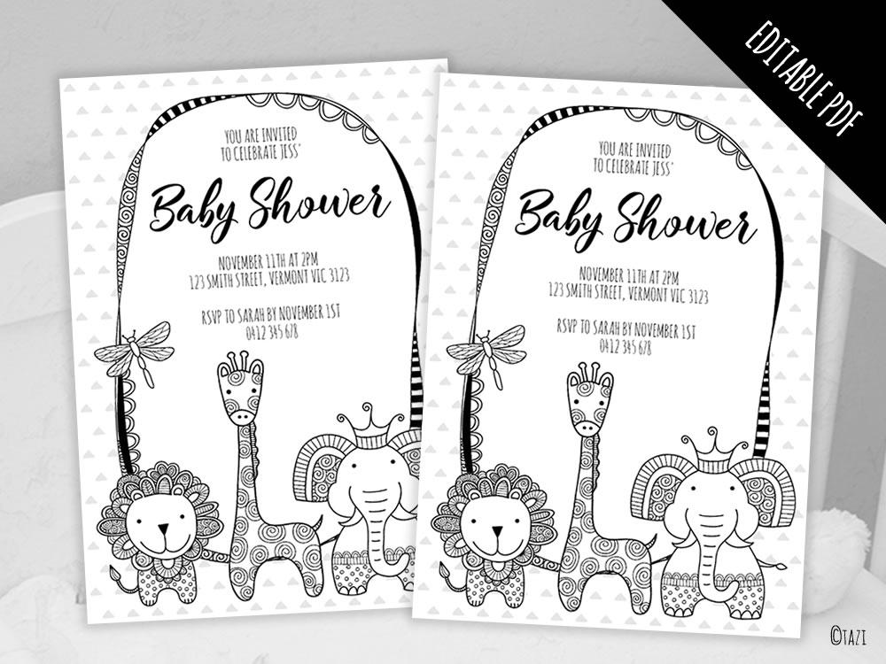 DIY Baby-Shower