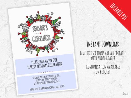 DIY Christmas-Bauble-Editable