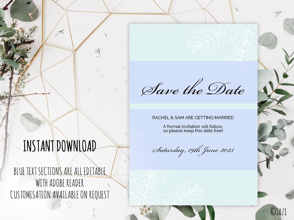 DIY Leaves-PaleGreen-Save-Date