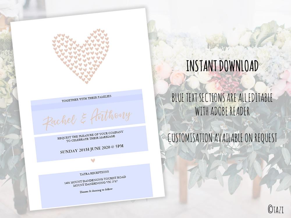 DIY Wedding-Hearts