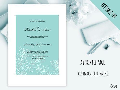 DIY-Wedding-Leaves-Green-Print