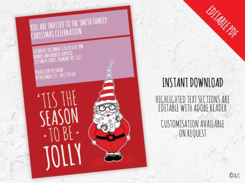 DIY Xmas-Santa-Editable