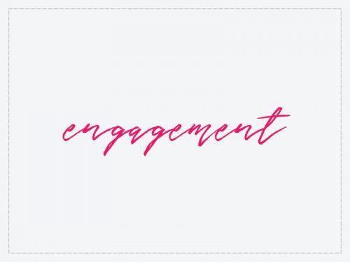 DIY engagement