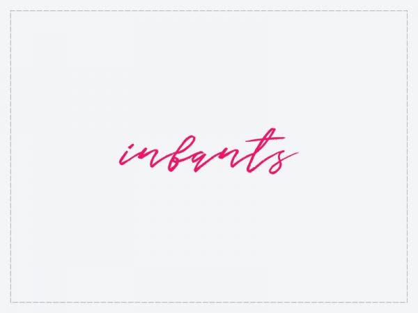 DIY infant invitations