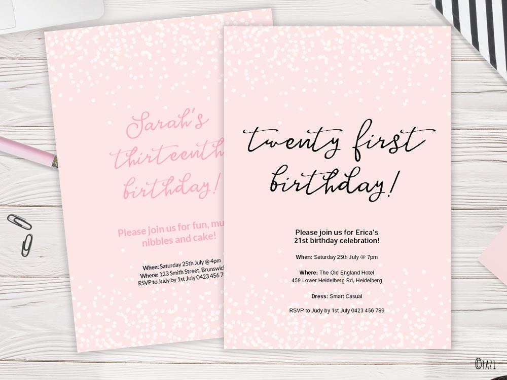 DIY confetti-invitation-pink