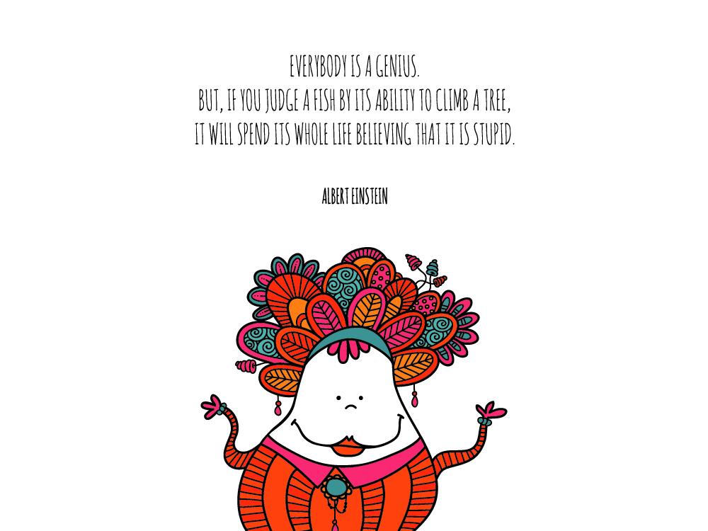 Tazi genius quote