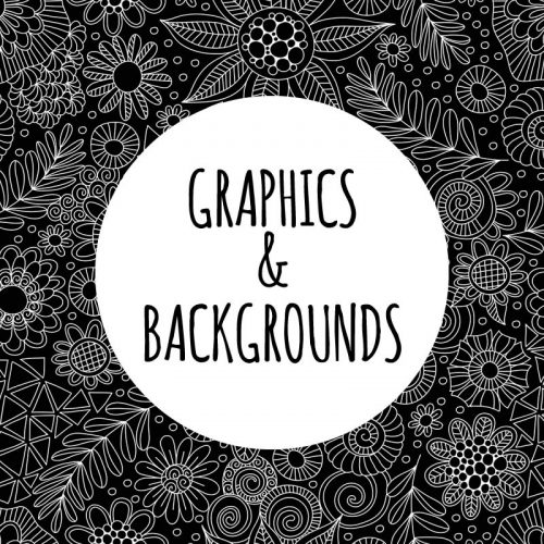 DIY graphics and backgrounds