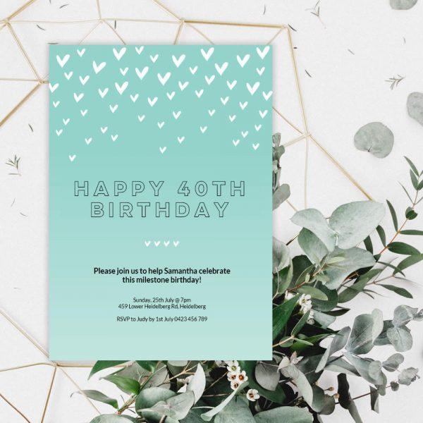 DIY green-heart-birthday