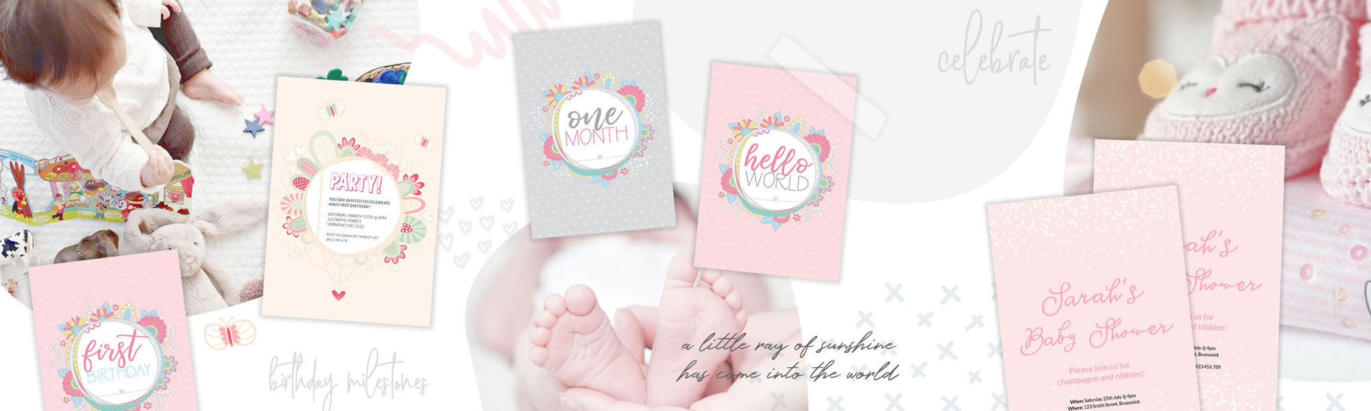 Baby invitations & announcements