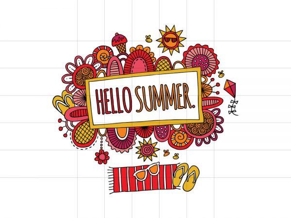 DIY Hello Summer