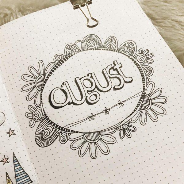 DIY journal-august