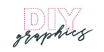 DIY logo white