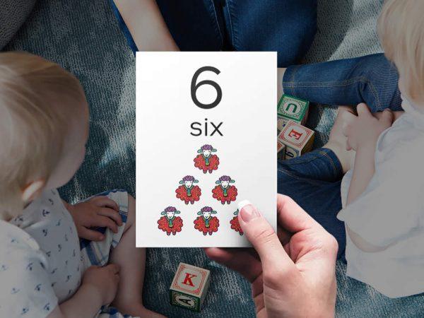 DIY numbers-bright-six