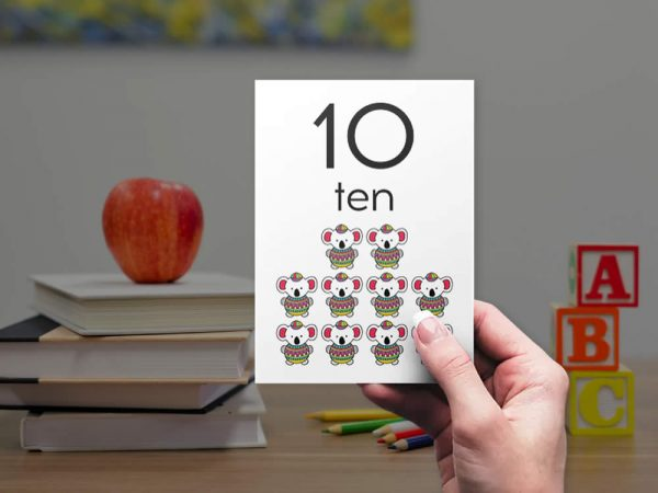 DIY numbers-bright-ten