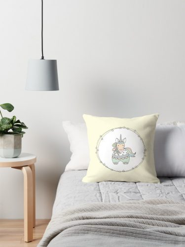 DIY gelati unicorn pillow